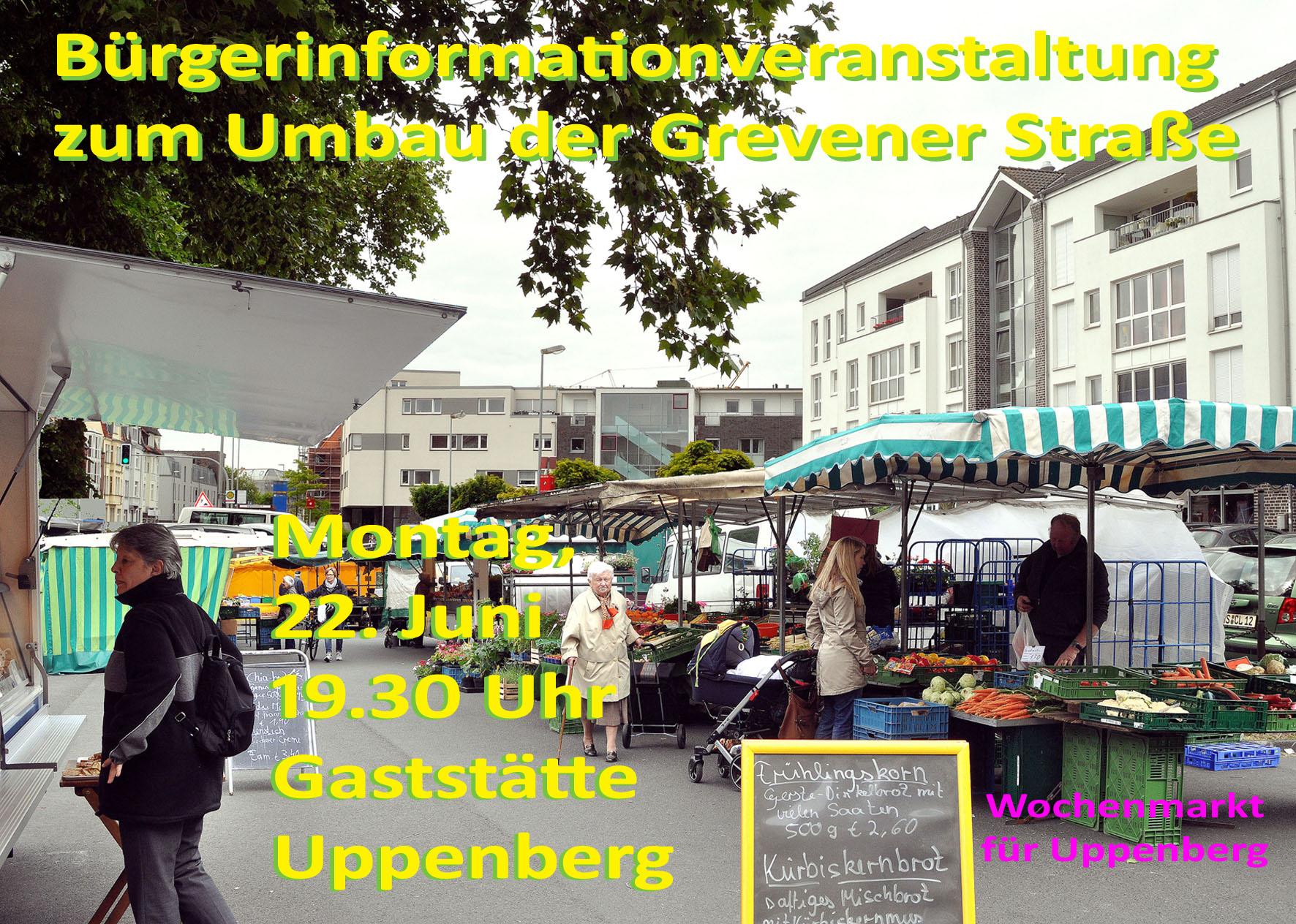 Umgestaltung Grevener Straße